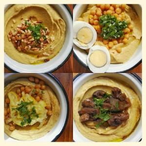 Variedad en La Hummusería